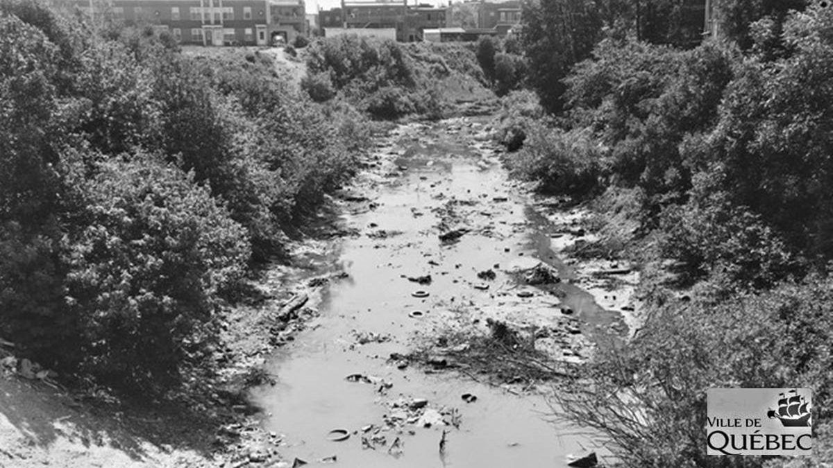 Rivière Lairet. 1959.