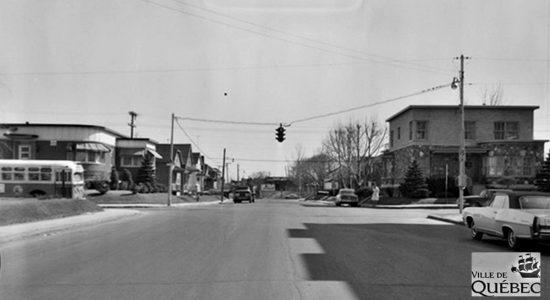 Limoilou dans les années 1960 (127) : intersection 18e Rue et 4e Avenue - Jean Cazes
