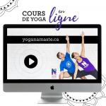 Cours de yoga en ligne – Forfait Zoom - Namaste Yoga Limoilou
