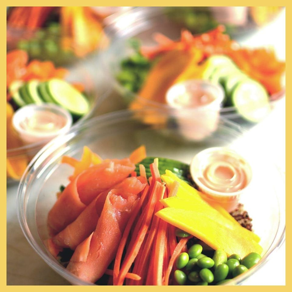 Poke Bowls / Livraison et À emporter | Baraque gourmande (La)
