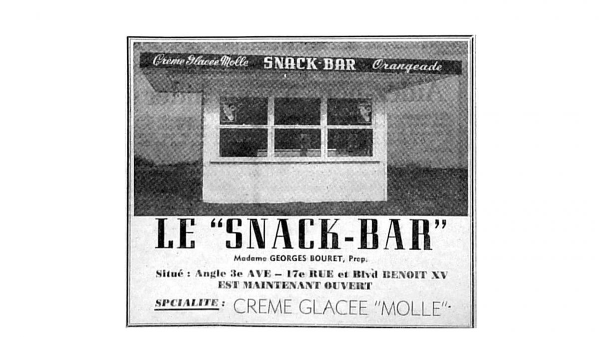 Limoilou dans les années 1960 (128) : Le Snack-Bar, l'ancêtre de Lilo | 17 mai 2020 | Article par Jean Cazes