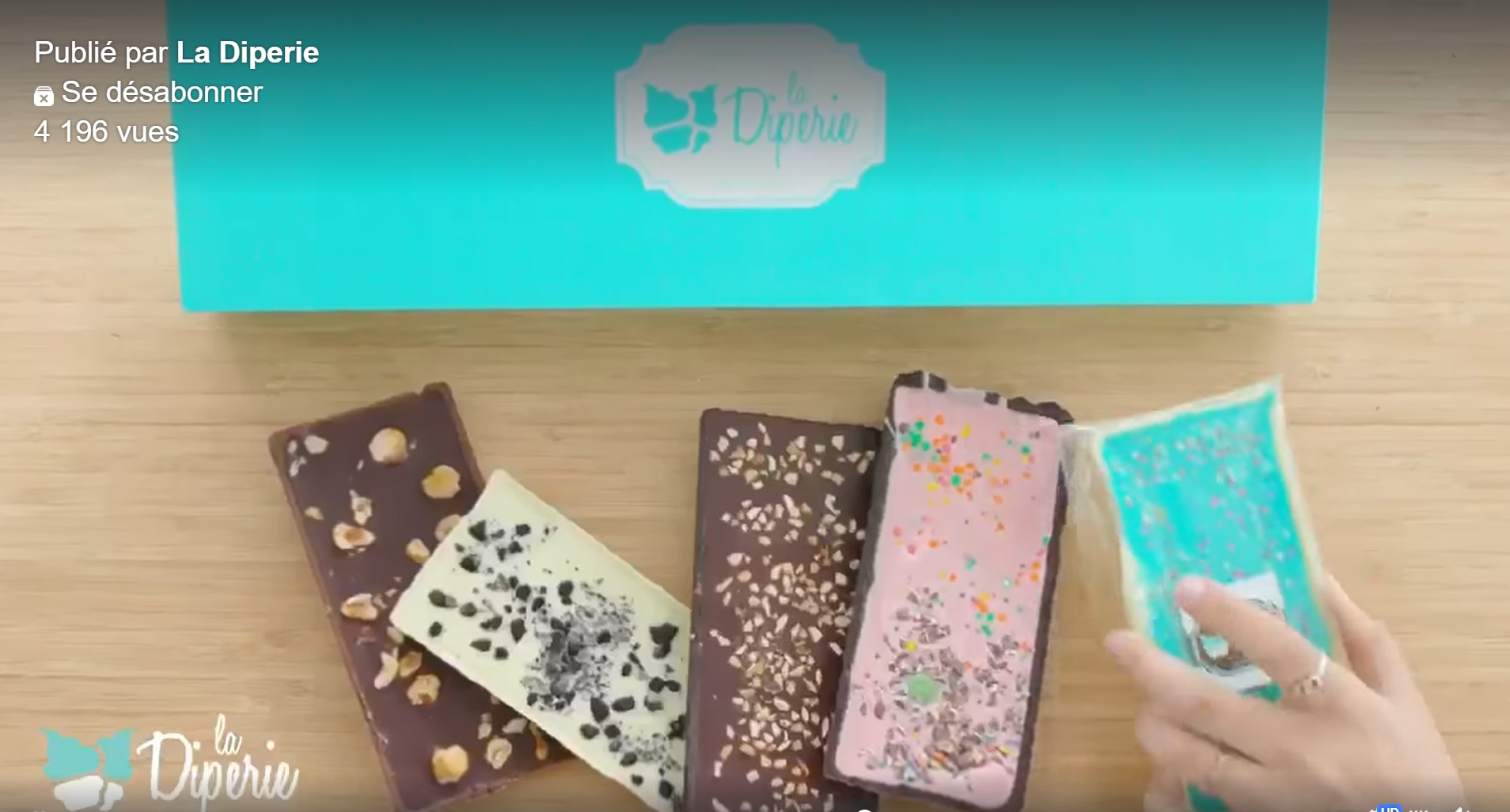 Barres de chocolat personnalisées | Diperie (La)