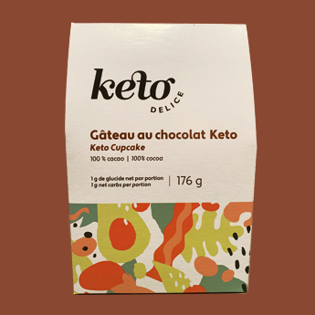 Mélange à gâteau au chocolat – Keto délice   Au Fruit des Moines
