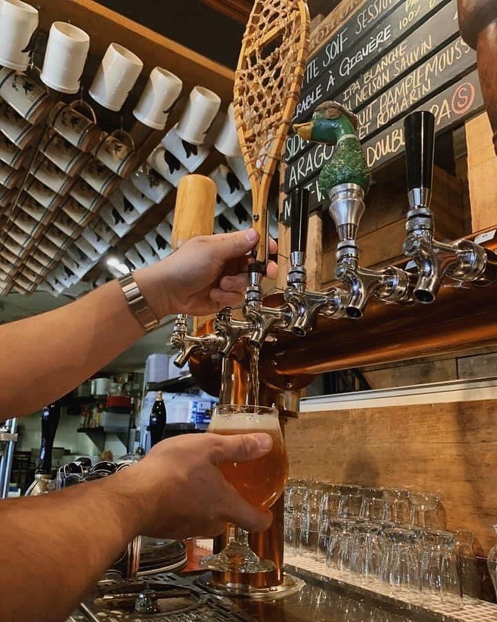 Bière Pale Ale L'Érable à Giguère | La Souche Microbrasserie-Restaurant