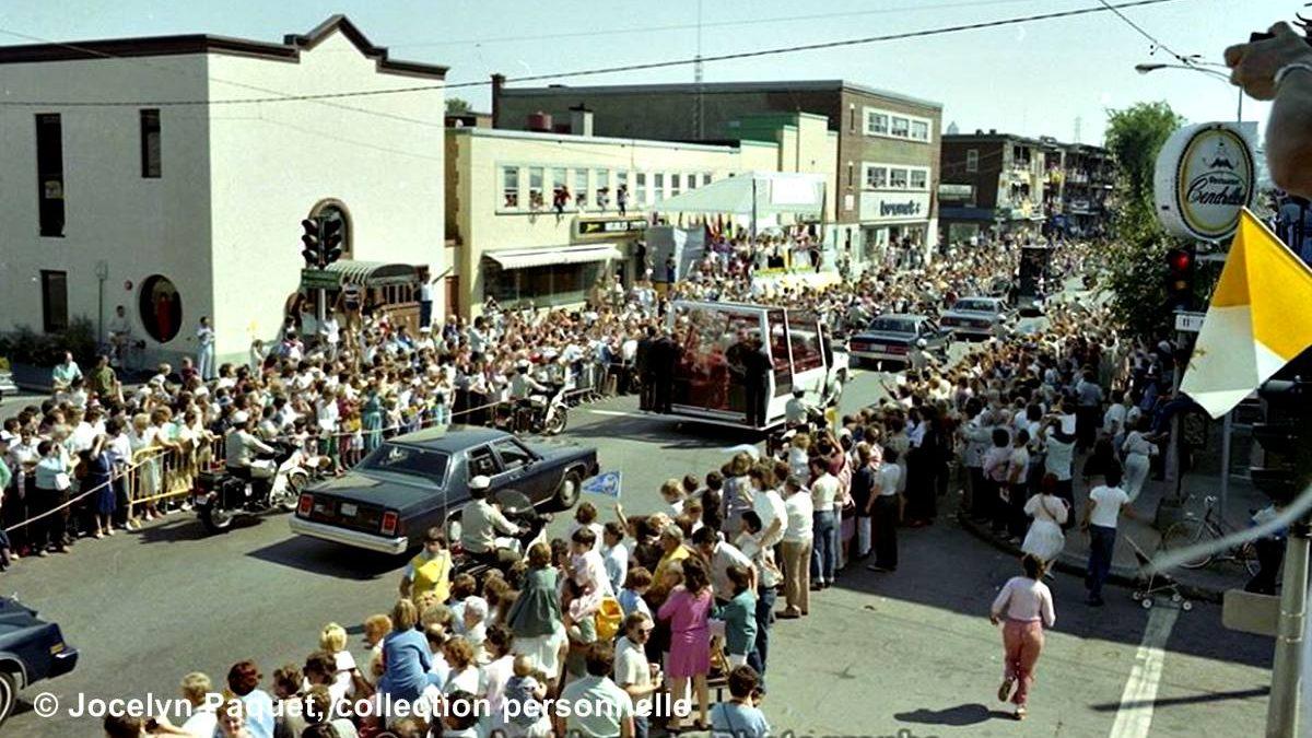 Limoilou dans les années 1980 (20) : retour sur la visite marquante du pape | 20 septembre 2020 | Article par Jean Cazes