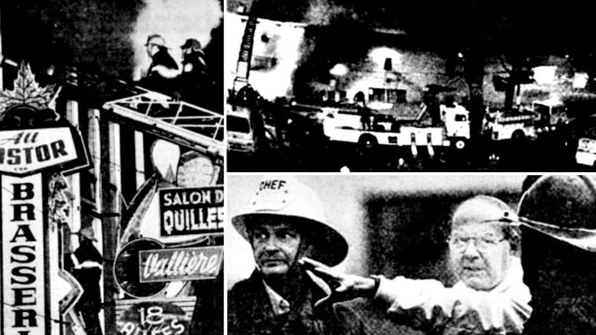 Limoilou dans les années 1980 (19): l'incendie du salon de quilles Vallières | 26 juillet 2020 | Article par Jean Cazes