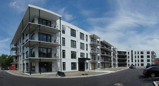 AXCÈS Trigone Quartier Maizerets. Face au Domaine de Maizerets. 3 juillet 2020.