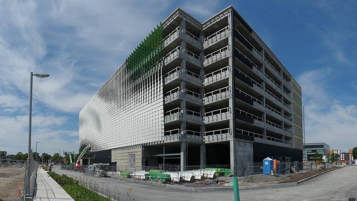 Écoquartier D'Estimauville, Immeuble  CENESST. 2 juillet 2020.
