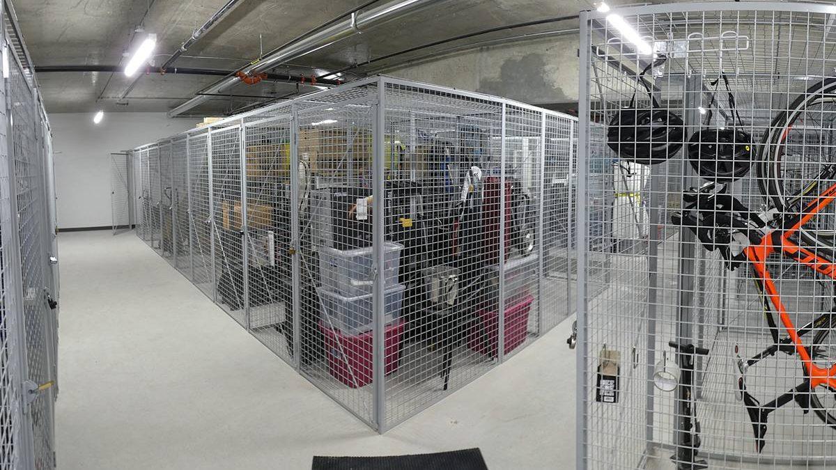 Îlot des Capucins, phase 3. Espaces de rangement. 10 juillet 2020.