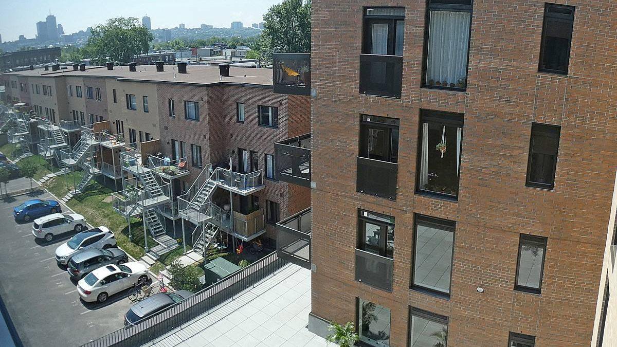 Îlot des Capucins, phase 3. Terrasse du 1er étage. 10 juillet 2020.