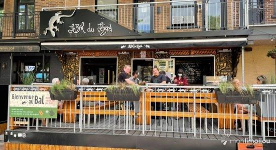 Apporte ton lunch sur la terrasse   Bal du Lézard (Le)