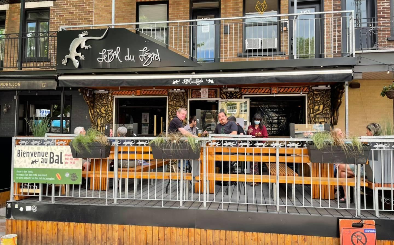 Apporte ton lunch sur la terrasse | Bal du Lézard (Le)
