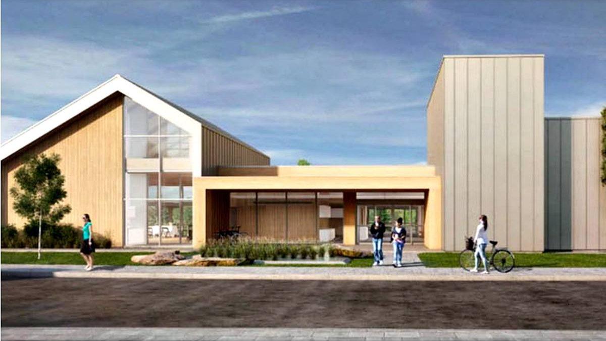 Écoquartier de la Pointe-aux-Lièvres : future passerelle.