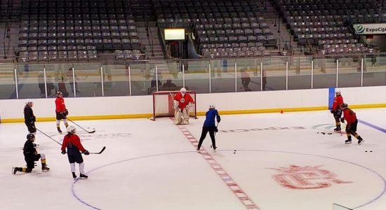 Pascal Dufresne : un engagement total envers le hockey féminin - Christian Lemelin