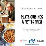 Plats cuisinés à petits prix - Centre Mgr Marcoux