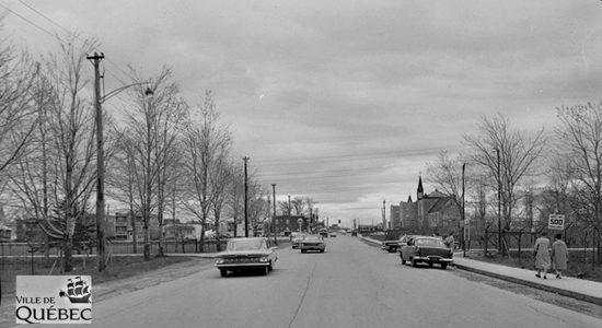 Limoilou dans les années 1960 (133) : la 18e Rue au voisinage de l'hôpital de l'Enfant-Jésus - Jean Cazes