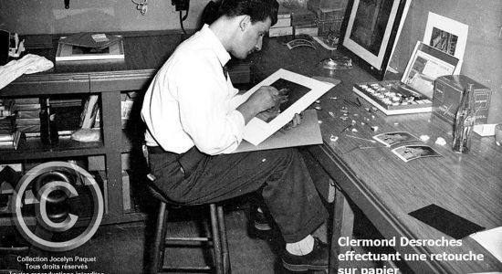 Clermond Desroches : Limoilou en deuil d'un célèbre photographe - Jean Cazes