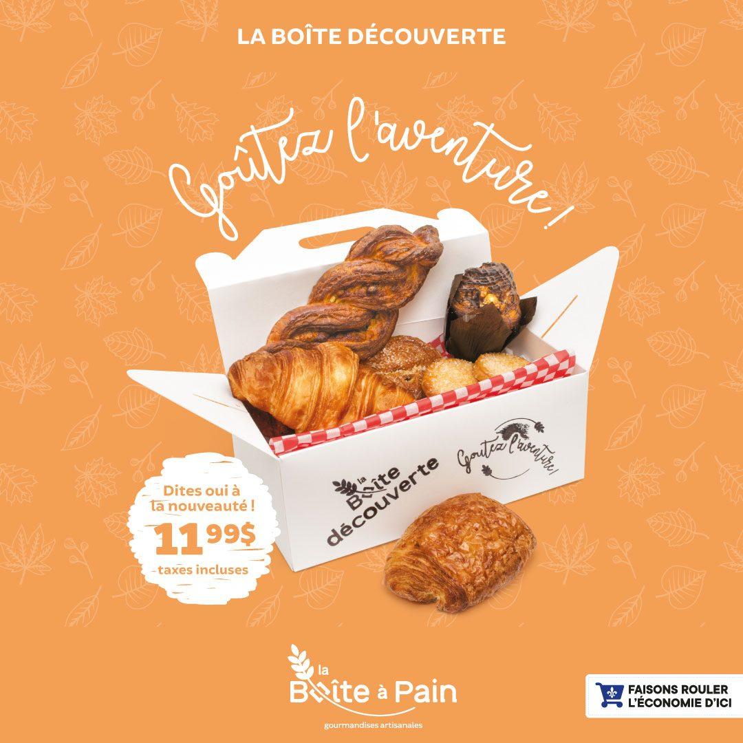 La Boîte Découverte | Boîte à Pain – Café Napoli