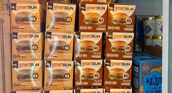 Pain hamburger sésame (6) – SmartBun | Au Fruit des Moines