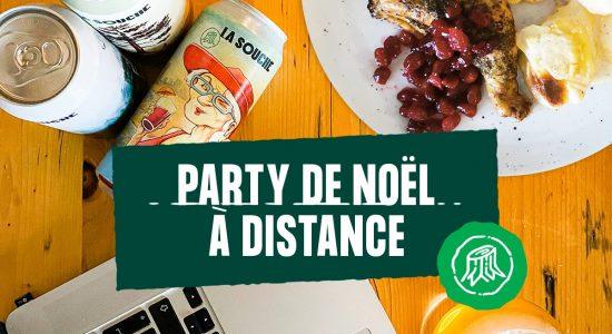 Party de Noël (avec distanciation) avec La Souche!   La Souche Microbrasserie-Restaurant