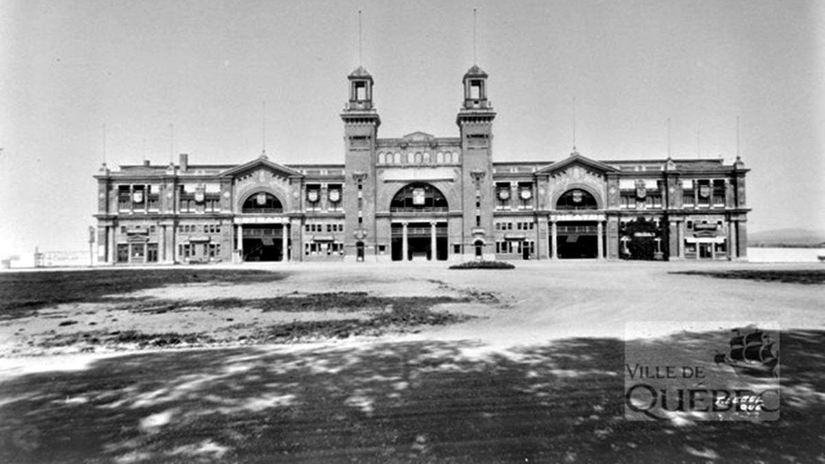 La Palais central en 1929.