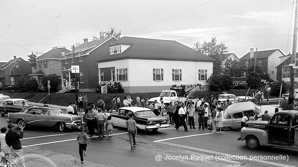 Limoilou dans les années 1960 (140) : une spectaculaire collision sur la 18e Rue | 13 juin 2021 | Article par Jean Cazes