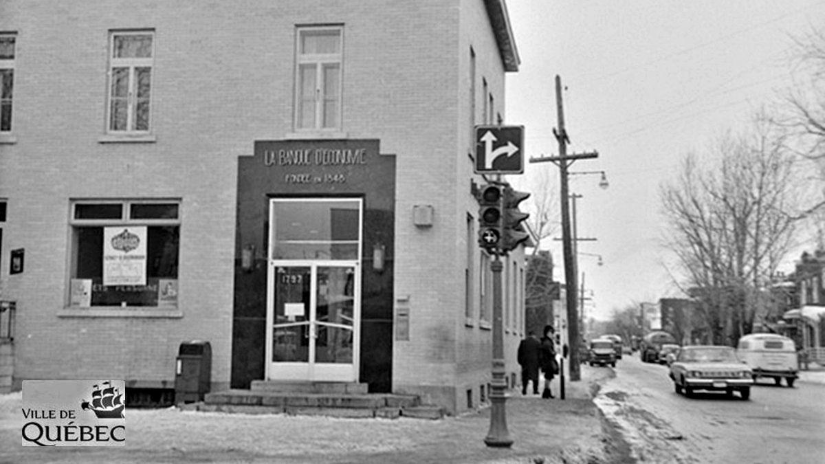 Limoilou dans les années 1960 (138) : la Banque d'Économie de Québec sur la 1re Avenue | 4 avril 2021 | Article par Jean Cazes