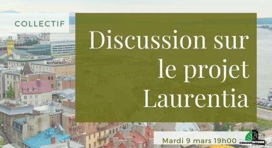 Collectif: Discussion sur le projet Laurentia