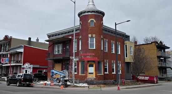 Rénovation du 401, 10e Rue. 18 avril 2021.