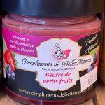 Beurre de petits fruits (convient à une alimentation faible en glucides) - Au Fruit des Moines
