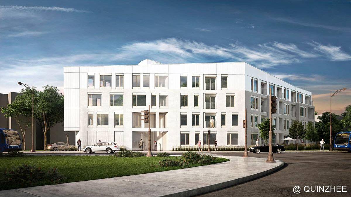 Le Scandinave : 40 nouveaux logements locatifs près du Centre Vidéotron | 23 avril 2021 | Article par Jean Cazes
