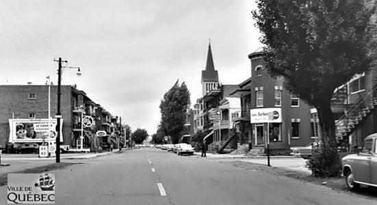 Limoilou dans les années 1960 (139) : coin 4e Avenue et 10e Rue - Jean Cazes