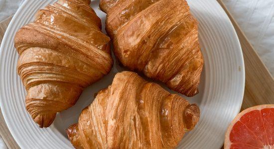 Croissants de fabrication artisanale | Boulangerie Borderon Le Fils