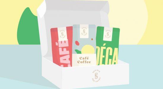 Café - Abonnement à la boîte découverte | Société des Cafés (La)