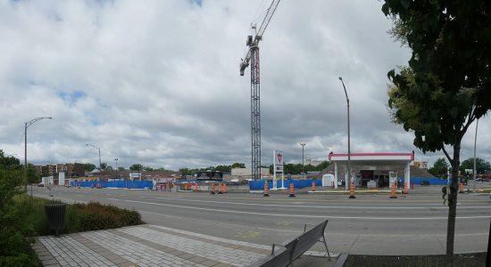 Le Quartier NUVO. État des travaux au 20 juin 2021.