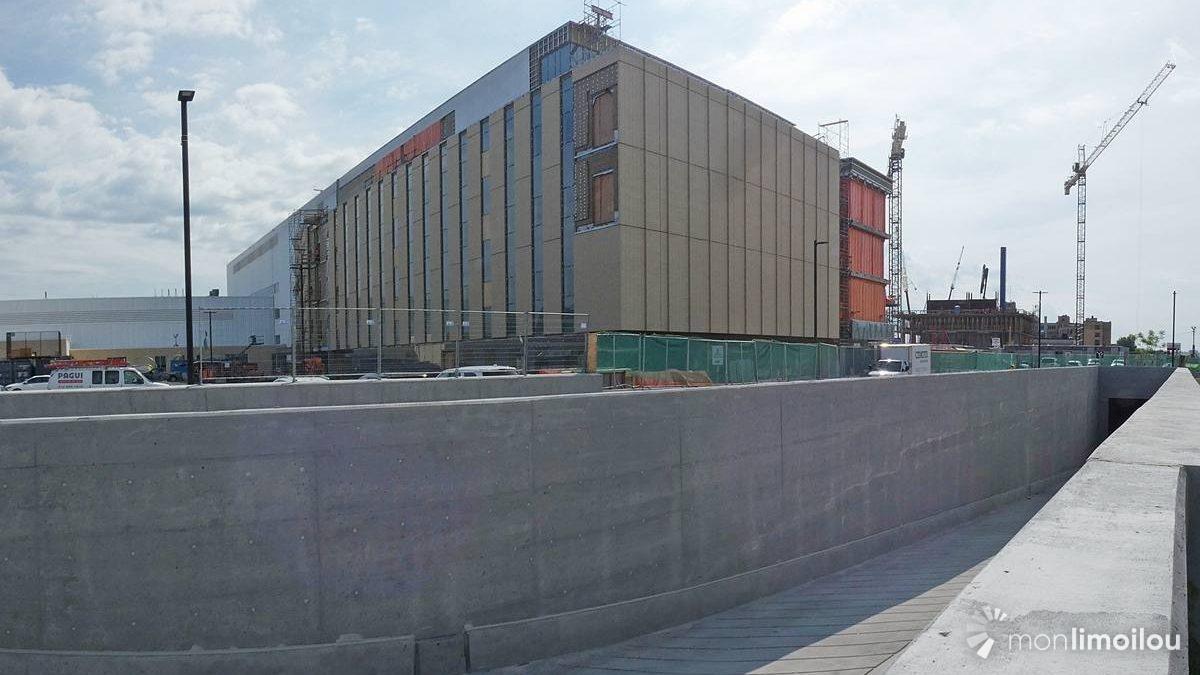Le Centre de recherche.