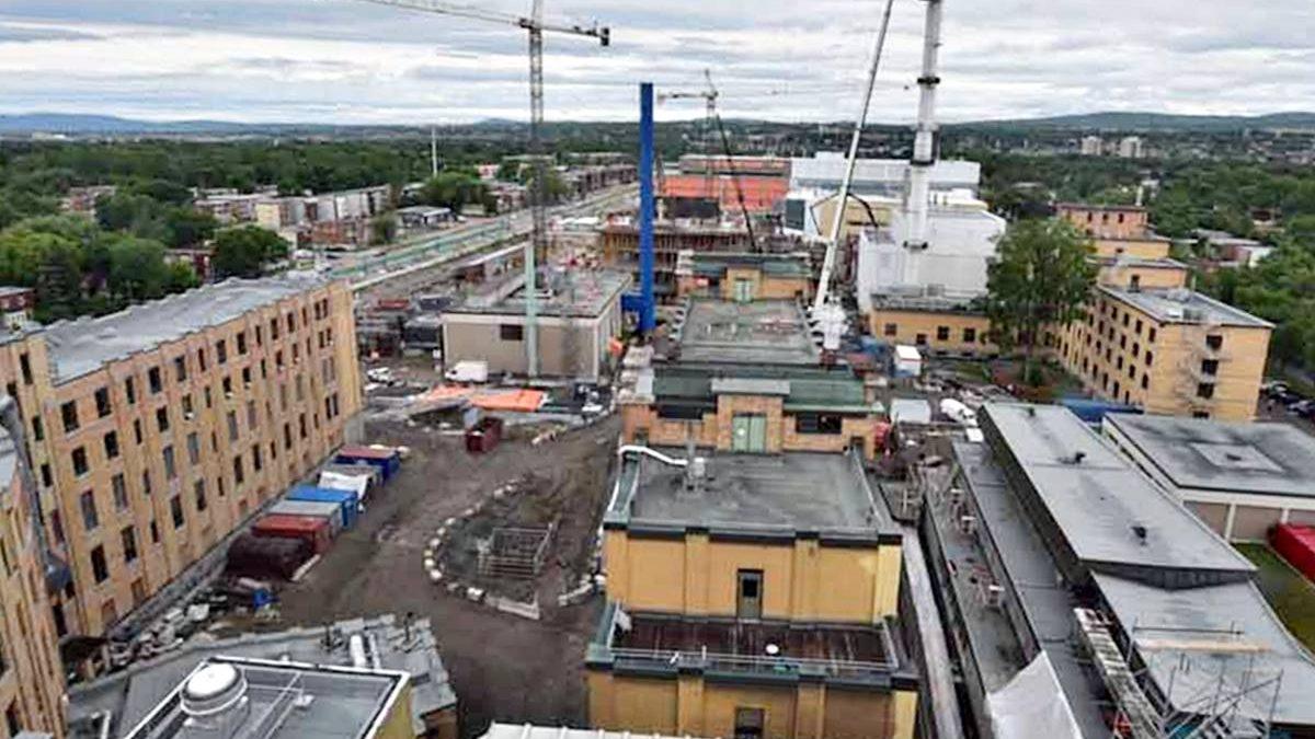 Nouveau complexe hospitalier du CHU de Québec : avancement du chantier | 23 juin 2021 | Article par Jean Cazes