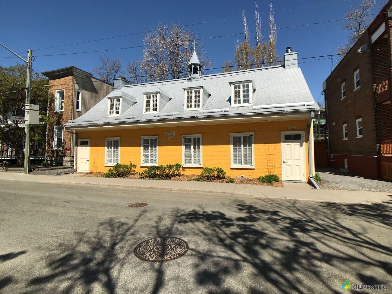 Une photo de la façade publiée sur Duproprio.com.