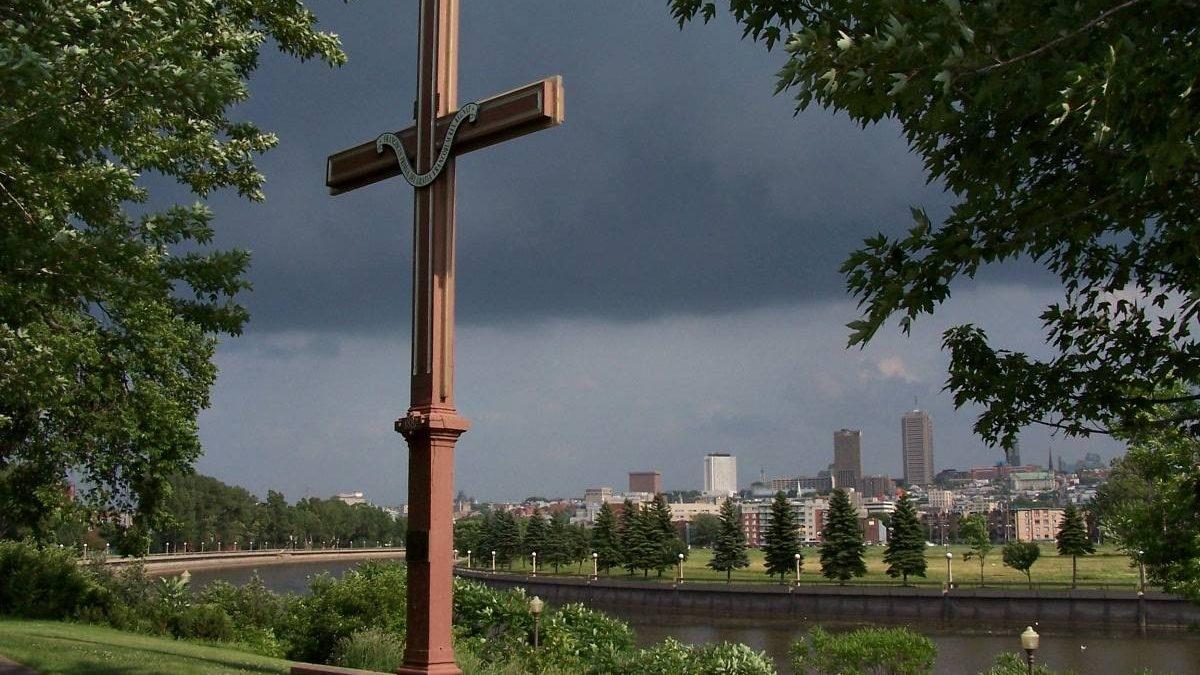 Souvenir de la croix. 19 juillet 2005.