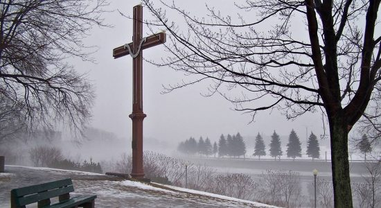 Lieu historique national Cartier-Brébeuf : une croix qui n'est plus qu'un souvenir - Jean Cazes