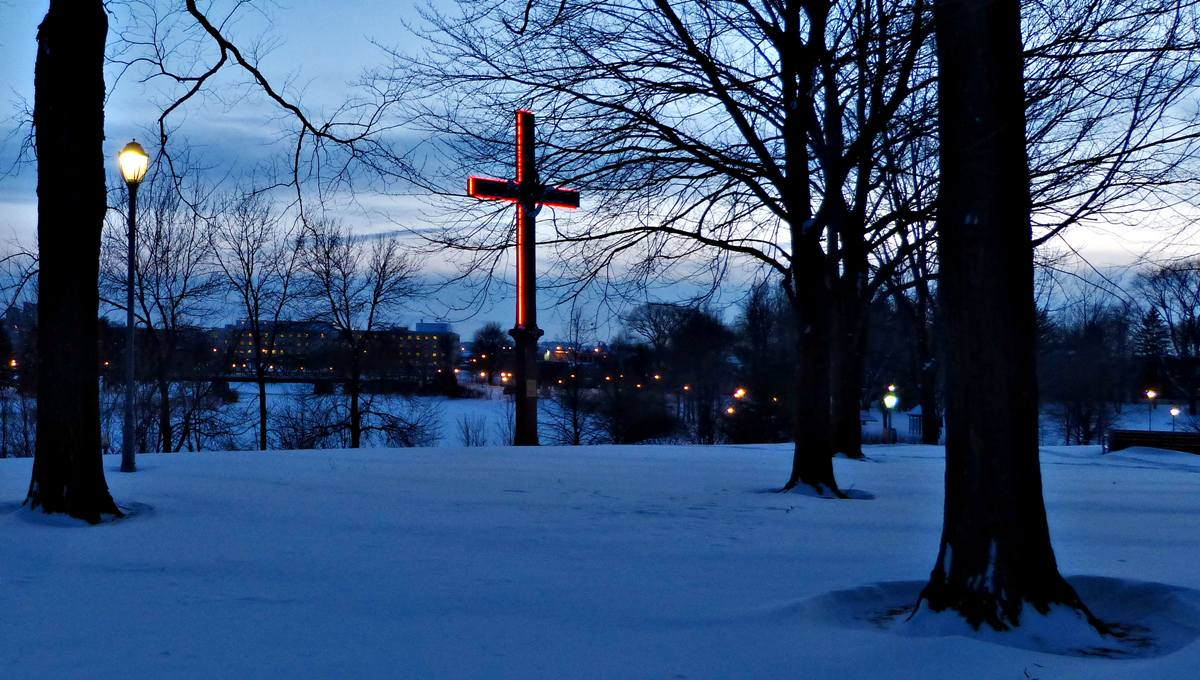 Souvenir de la croix. 23 février 2013.