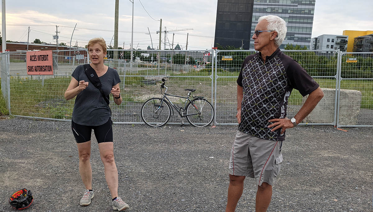 Marie-Hélène Deshaies et Marcel Paré