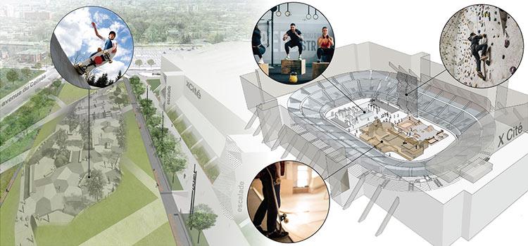 Vision pour le Colisée, août 2021