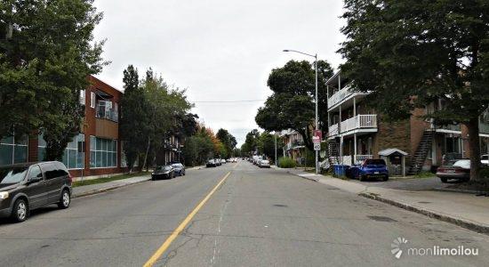 Vue de la 4e Avenue en 2021