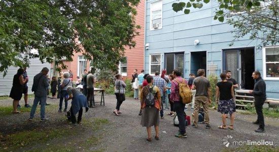 Résidents de la ruelle des Oiseaux de passage, 5e Rue, Limoilou