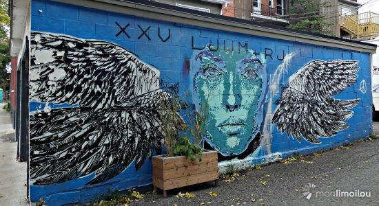 Les murales du Vieux-Limoilou à la carte - Jean Cazes