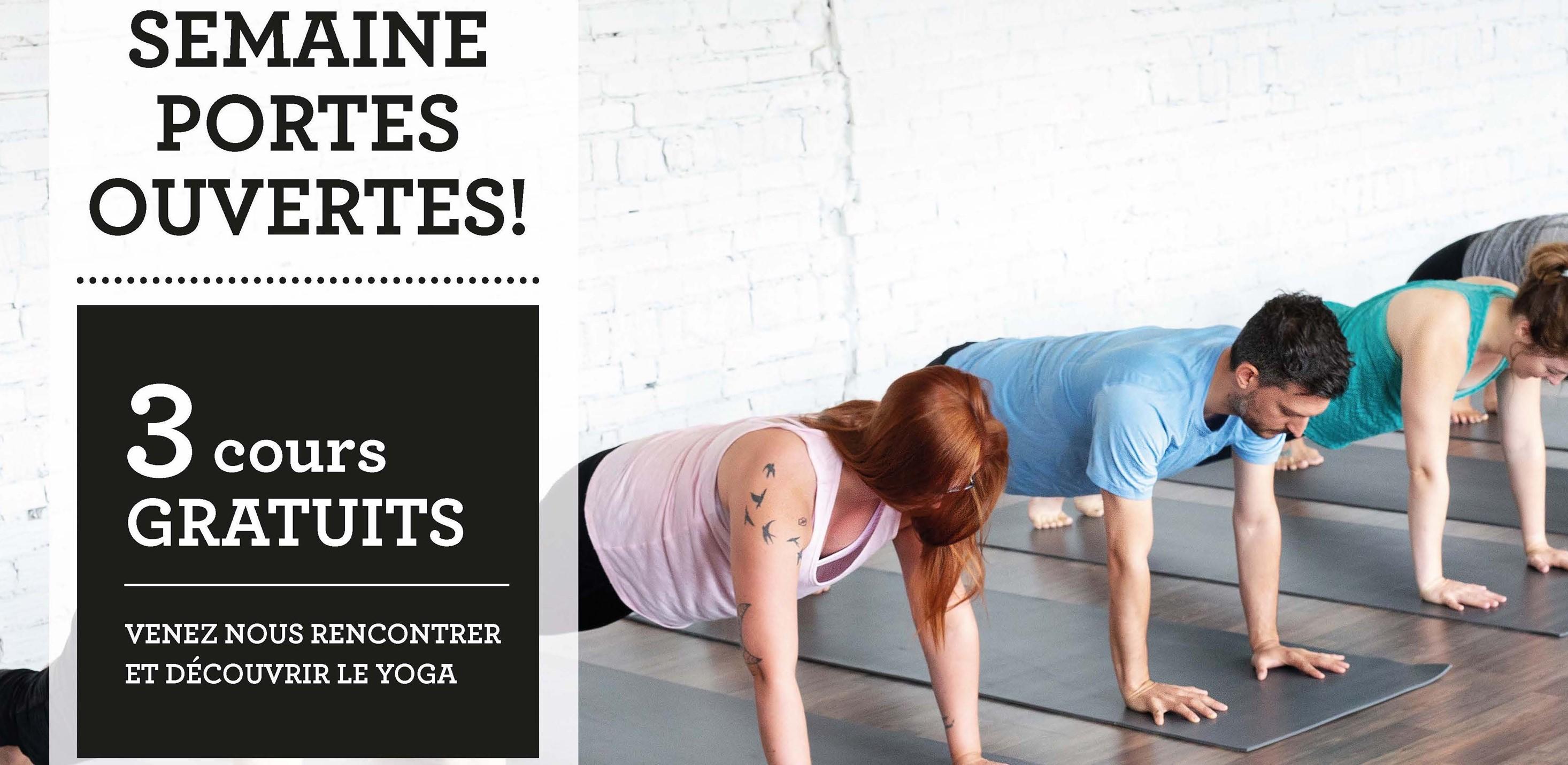 Portes ouvertes 2021   Namaste Yoga Limoilou