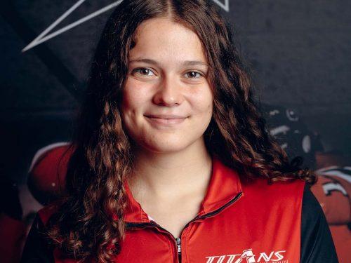 Éricka Gagnon, gardienne de but des Titans de Limoilou