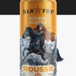 Bière rousse Rustre (4.8%) d'À la Fût - Bal du Lézard (Le)