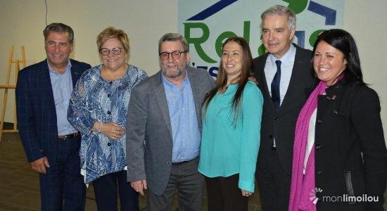 Le maire Régis Labeaume marque son retour progressif à Limoilou - Suzie Genest